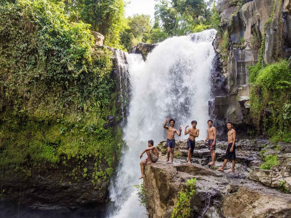 tegenunga waterfall