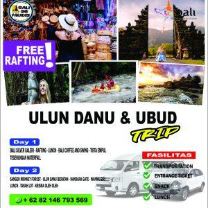 ulun danu and ubud trip